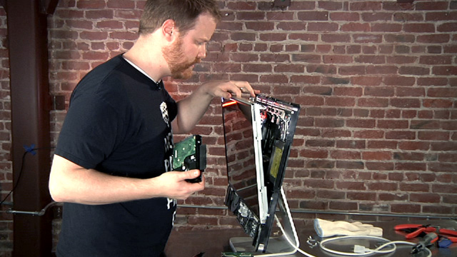 How To Take Apart an iMac (and Replace its Hard Drive)