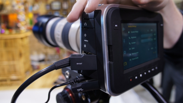Hands-On with the Blackmagic Cinema Camera