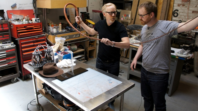 Inside Adam Savage's Cave: Indiana Jones Bullwhip