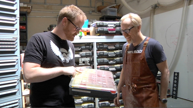 Inside Adam Savage's Cave: The Tool Boxes