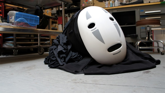Inside Adam Savage's Cave: No-Face Cosplay