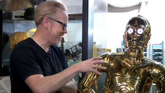 Inside Adam Savage's Cave: C-3PO Protocol Droid