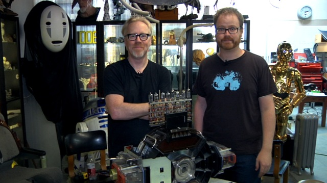 Inside Adam Savage's Cave: Geeking Out about Bits and Bytes