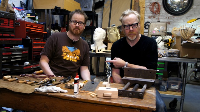 Learning How To Make Dovetail Joints with Adam Savage