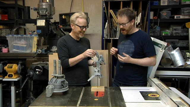Inside Adam Savage's Cave: Model Making for Movies