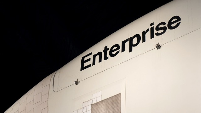 Behind the Scenes of Our Trip to the Space Shuttle Enterprise