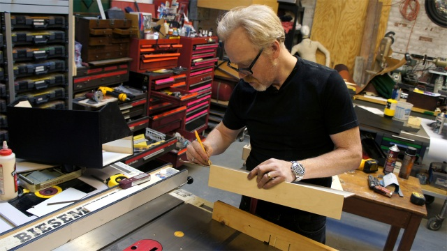 One Day Builds: Adam Savage Makes a Blade Runner Blaster Carrying Case