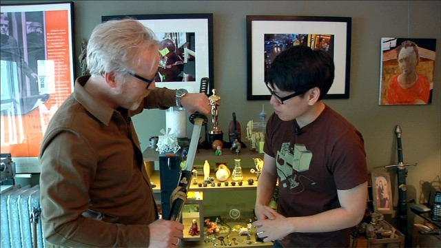 The Oddities Inside Adam Savage's Home Office