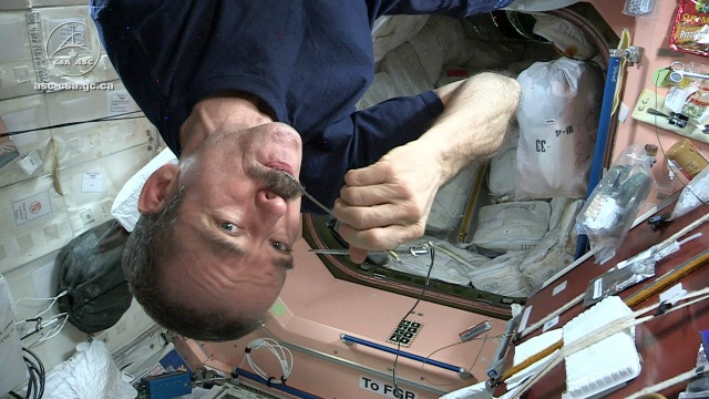 Tested Makes Gourmet Space Food for Astronaut Chris Hadfield
