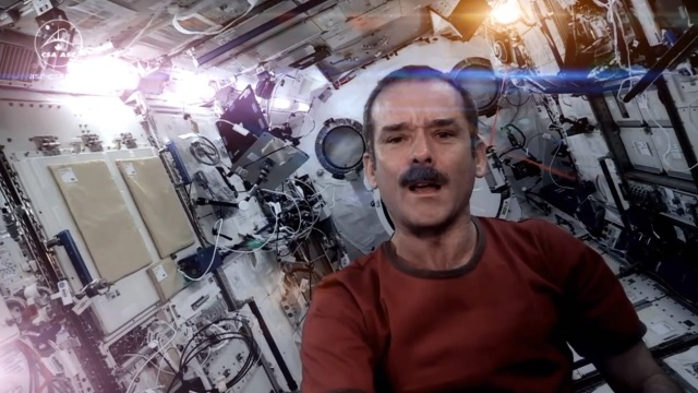 Chris Hadfield is a Space Oddity