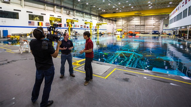 Tested at NASA: How Astronauts Train Underwater at The Neutral Buoyancy Lab
