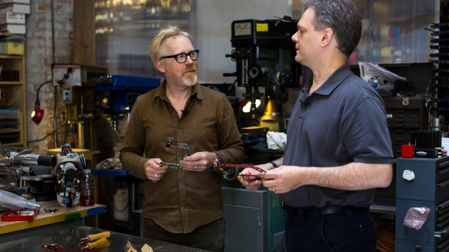 Inside Adam Savage's Cave: Geeking Out Over Woodworking Saws