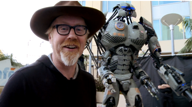 Adam Unveils Wired's Comic-Con 2013 Robot