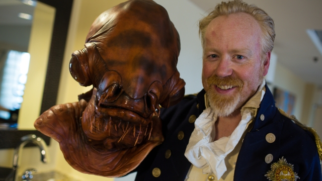 The Making of Adam Savage's Admiral Ackbar Costume