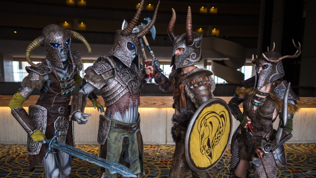 The Draugr Armorers of Dragon*Con