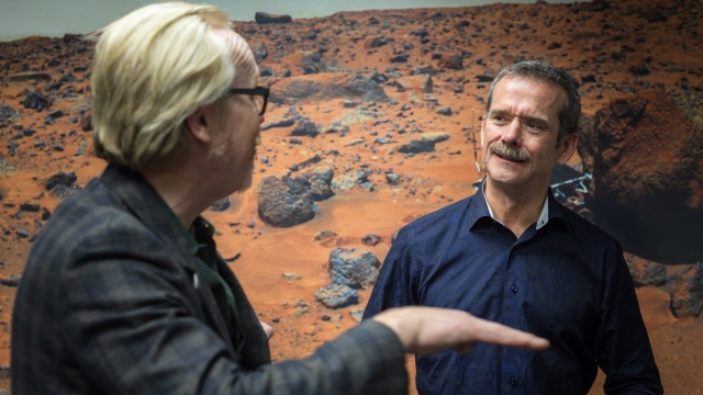 Astronaut Chris Hadfield on The Value of Social Media
