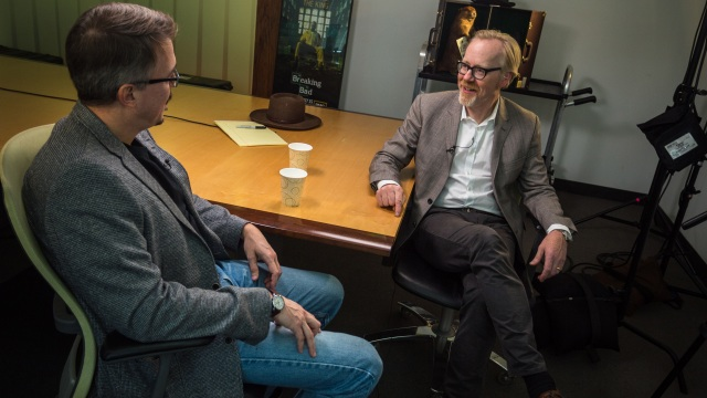 The Talking Room: Adam Savage Interviews Vince Gilligan