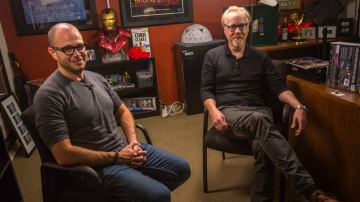 The Talking Room: Adam Savage Interviews Damon Lindelof