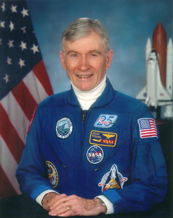 STS-1 commander John Young found more comfort in walking on the moon than he did the thought of executing an RTLS abort.