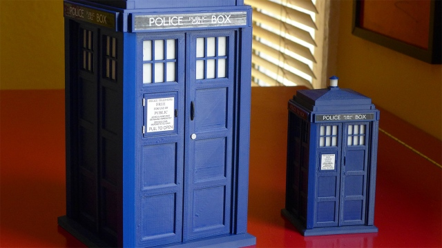 Bits to Atoms: 3D Printing an Accurate Replica TARDIS