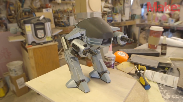 Shawn Thorsson's ED-209 Build for Maker Faire