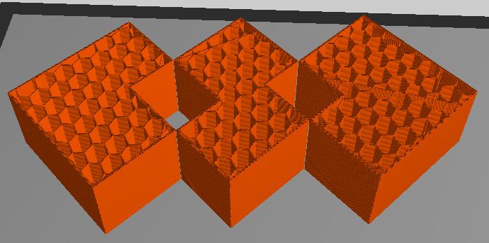 Funky geometry from unbooled cubes.