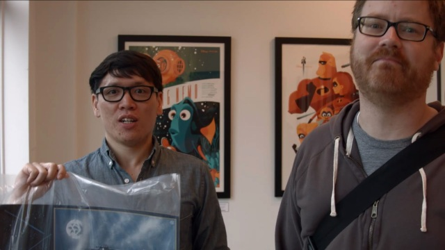 Premium: Will and Norm Geek Out at the Mondo Gallery