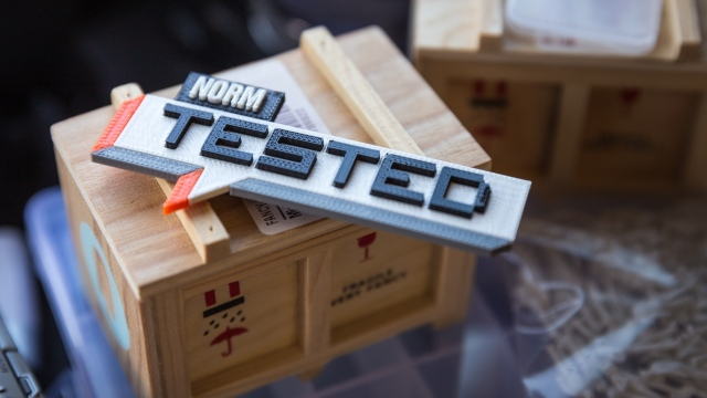 Bits to Atoms: Designing and 3D-Printing Tested Nametags