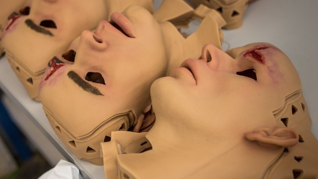 Almost Human: Trauma Mannequins for Medic Training