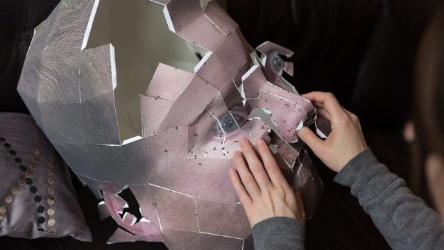 How To Make Your Own Giant Papercraft Head