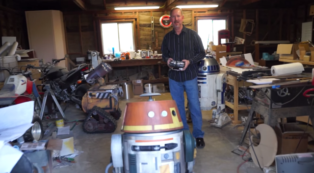 Michael McMaster Builds a Droid for Lucasfilm