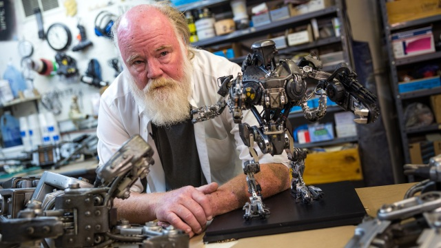 Animating Robocop 2's Cain Robot with Phil Tippett