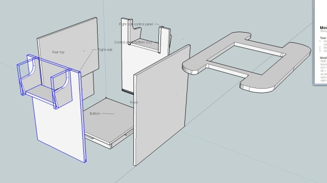 Designing a Custom Arcade Cabinet in Sketchup