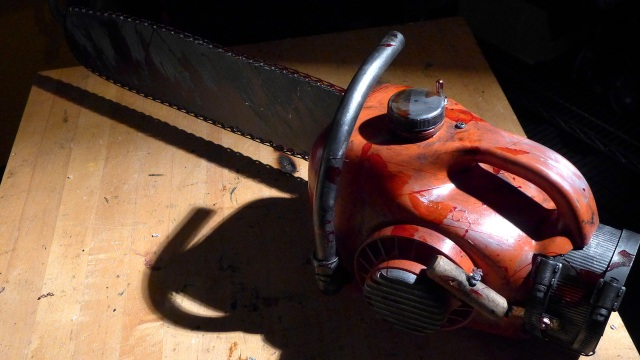 Bits to Atoms: Building an 'Evil Dead' Chainsaw