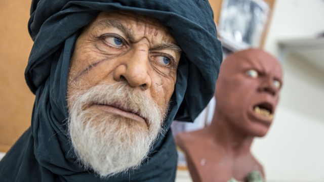 The Creature and Portrait Sculptures of Mike Hill