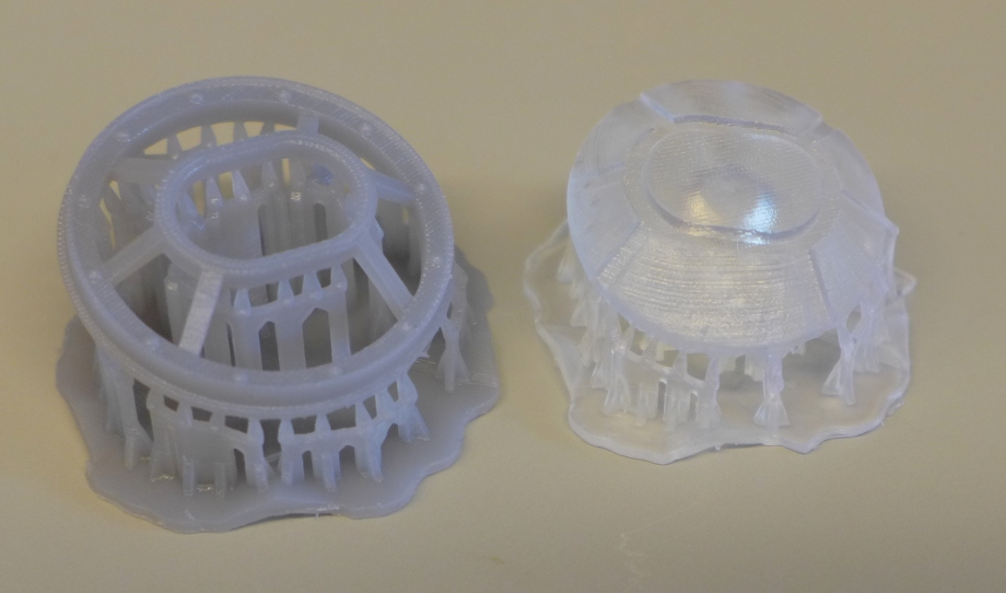 Form 1+ SLA print--about the size of a quarter