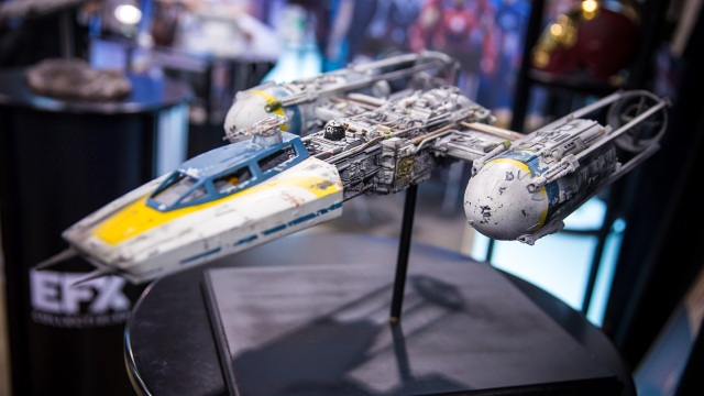 Steve Neisen's Star Wars Studio Scale Ship Replicas