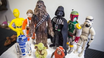 Making Needle Felted Star Wars Characters