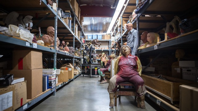 Photo Gallery: Rick Baker's 'Monster Maker' Auction Collection