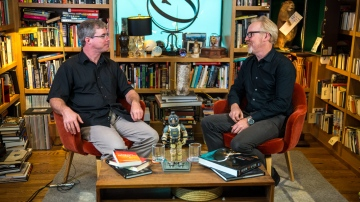 The Talking Room: Adam Savage Interviews  Andy Weir