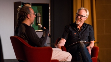 The Talking Room: Adam Savage Interviews Astro Teller