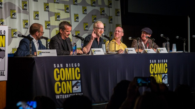 Adam Savage's Comic-Con 2015 Panel (with Special Guests!)