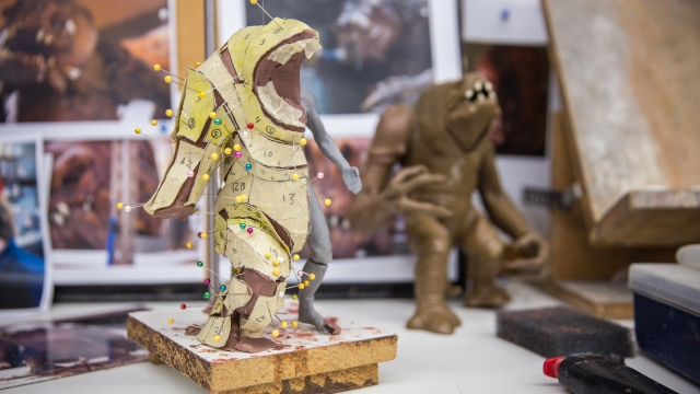 Building the Star Wars Rancor Costume, Part 1