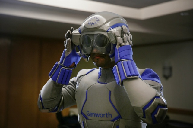Aging Suit Simulates Experience of Old Age