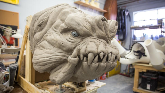 Building the Star Wars Rancor Costume, Part 3