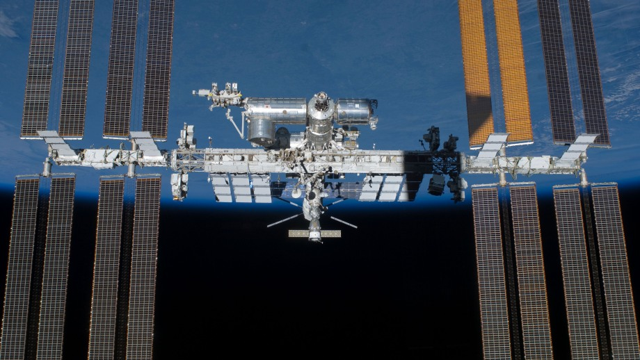 The ISS's eight huge solar arrays are perhaps its most dominant visual feature. They can provide the station with power equivalent to 55 average homes.