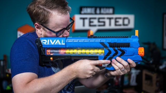Show and Tell: Nerf Rival Blasters (with FPV Video!)