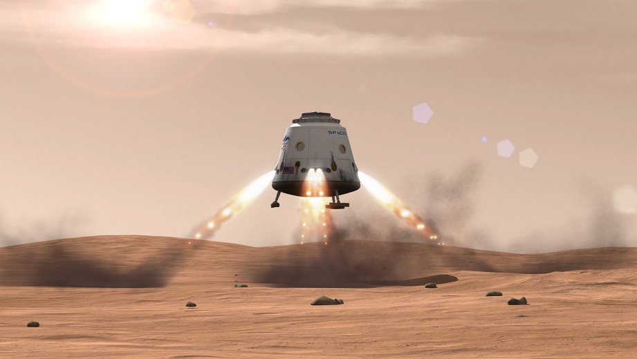 SpaceX's 'Red Dragon' capsule concept could be used as a Mars Ascent Vehicle.