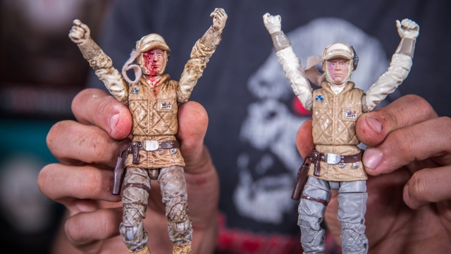Tested Builds: Repainting Action Figures, Part 4