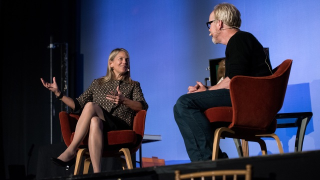 The Talking Room: Adam Savage Interviews Dava Newman